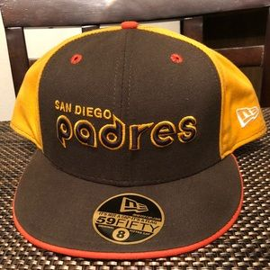 new product ee5a8 79589 New Era Accessories - 🔴 San Diego Padres New Era Fitted Cap Size 8
